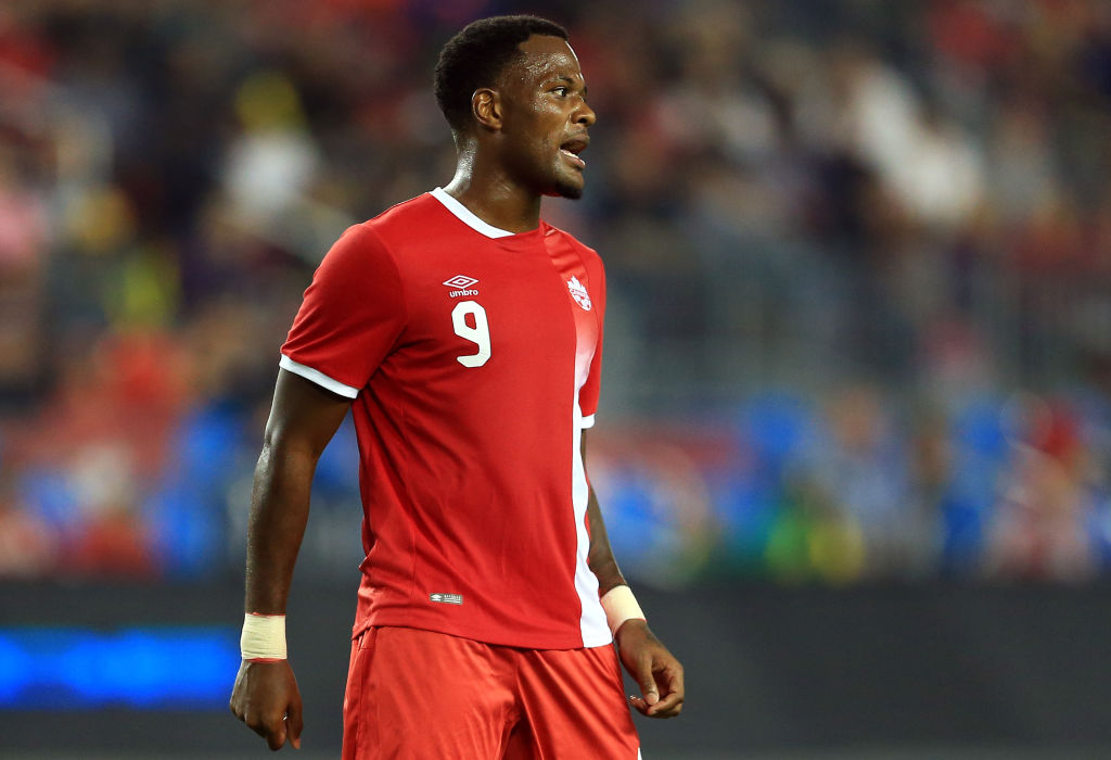 Tottenham-linked Cyle Larin in action for Canada