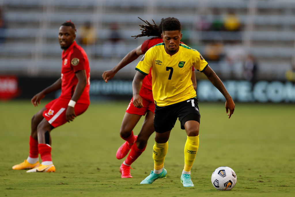 SOCCER: JUL 16 Concacaf Gold Cup - Guadeloupe v Jamaica