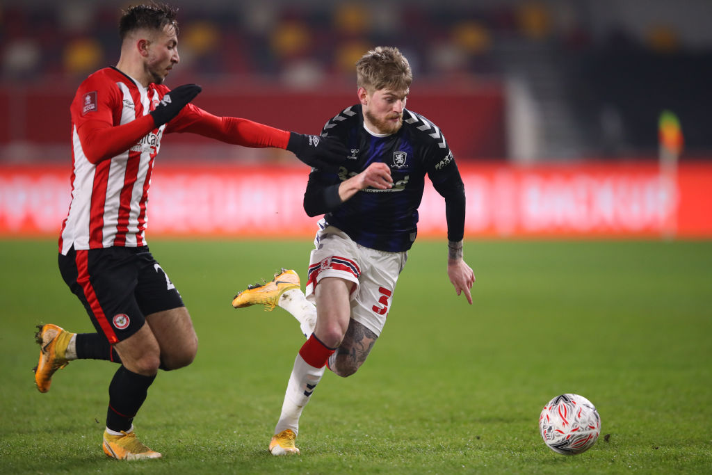 Brentford v Middlesbrough - FA Cup Third Round
