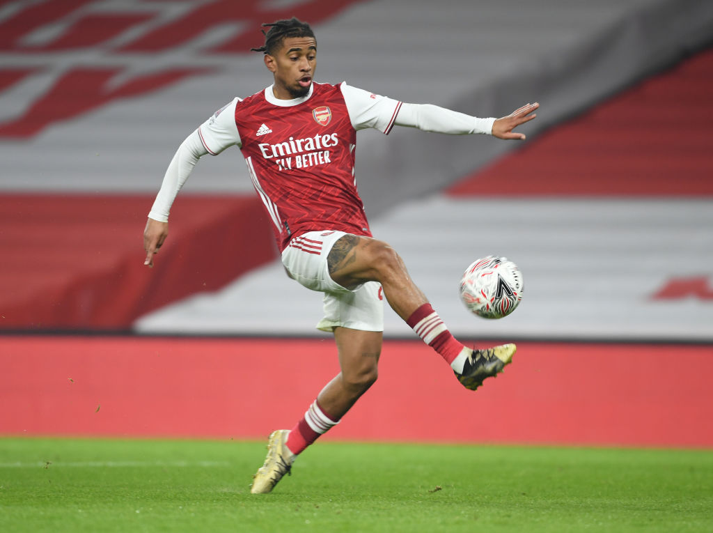 Arsenal fans have been commenting on reports Reiss Nelson could be offered in a swap for James Maddison