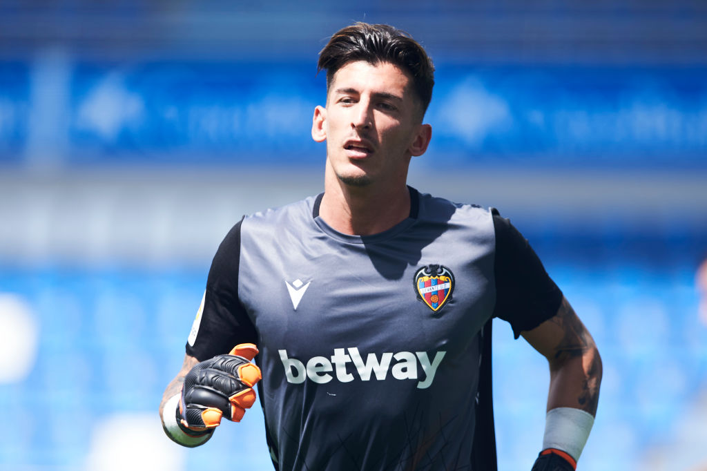 Levante want to hand Leeds target Daniel Cardenas a new contract