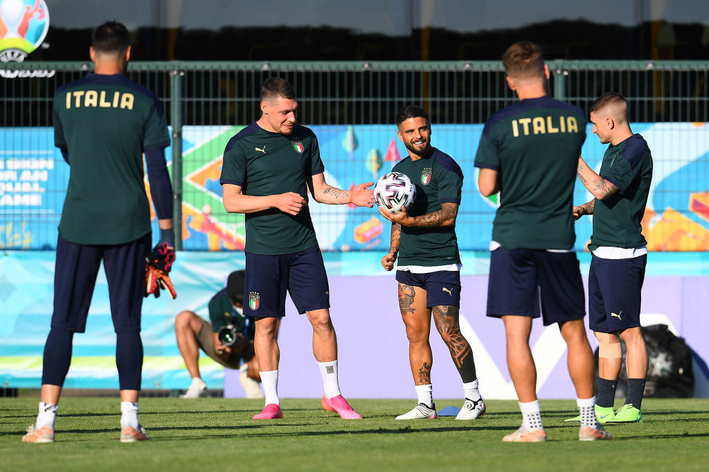 Italy Training Session and Press Conference - UEFA Euro 2020: Group A