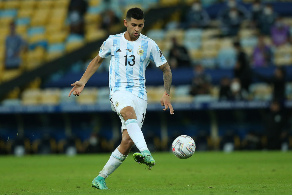 Spurs have agreed personal terms with Cristian Romero