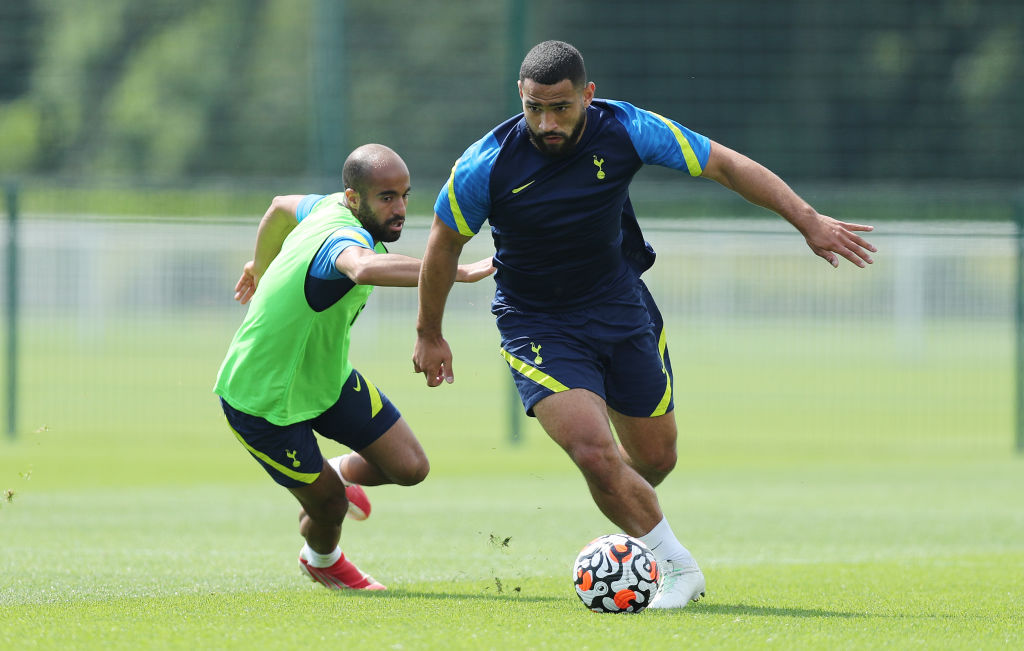 Spurs have received an enquiry from Newcastle for Cameron Carter-Vickers