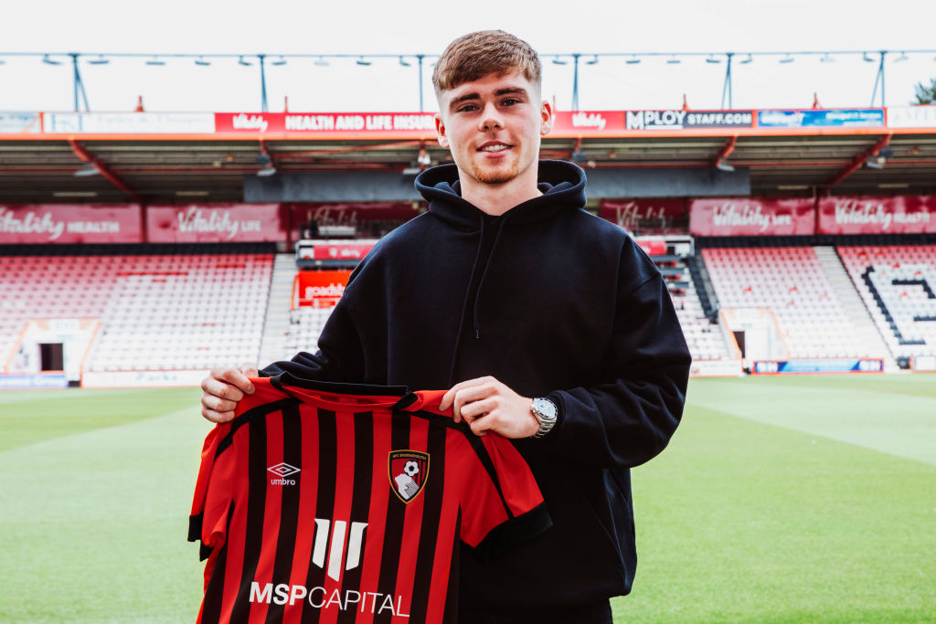 Bournemouth Unveil New Signing Leif Davis