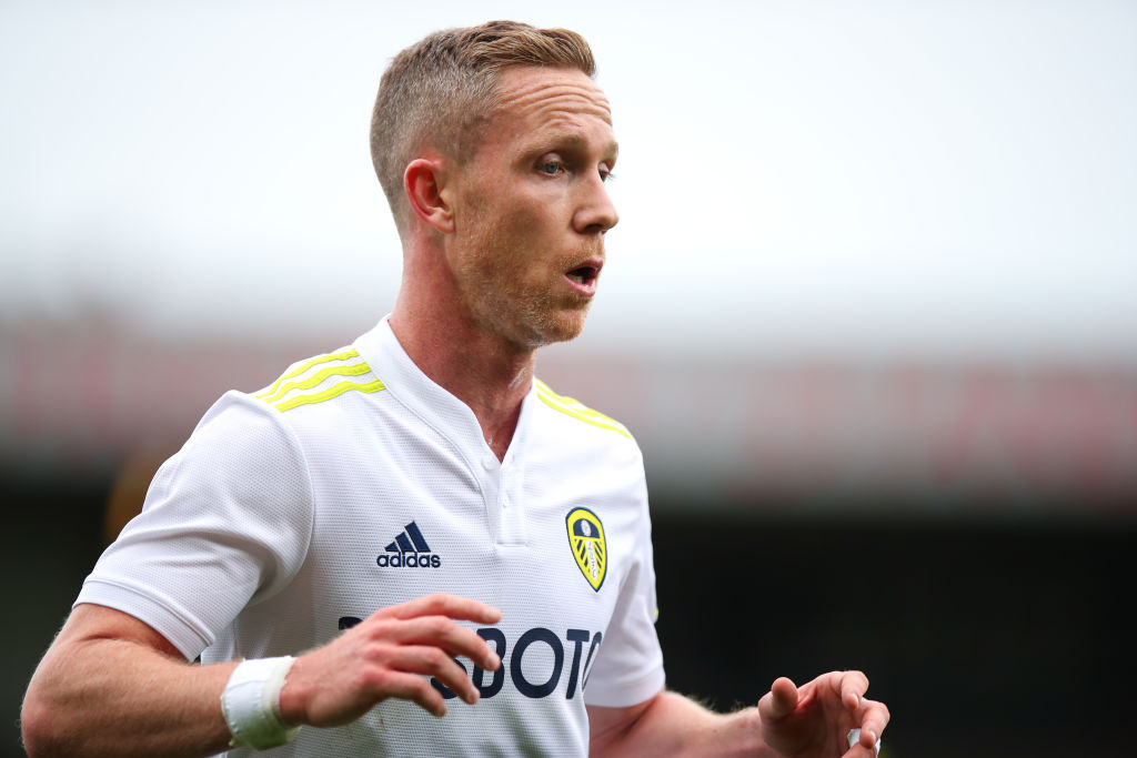 Adam Forshaw made his return for Leeds on Tuesday