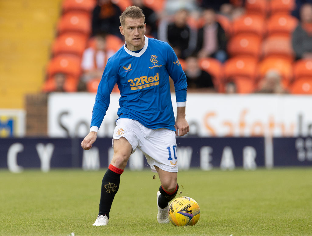 Steven Davis impressed for Rangers in their Old Firm win