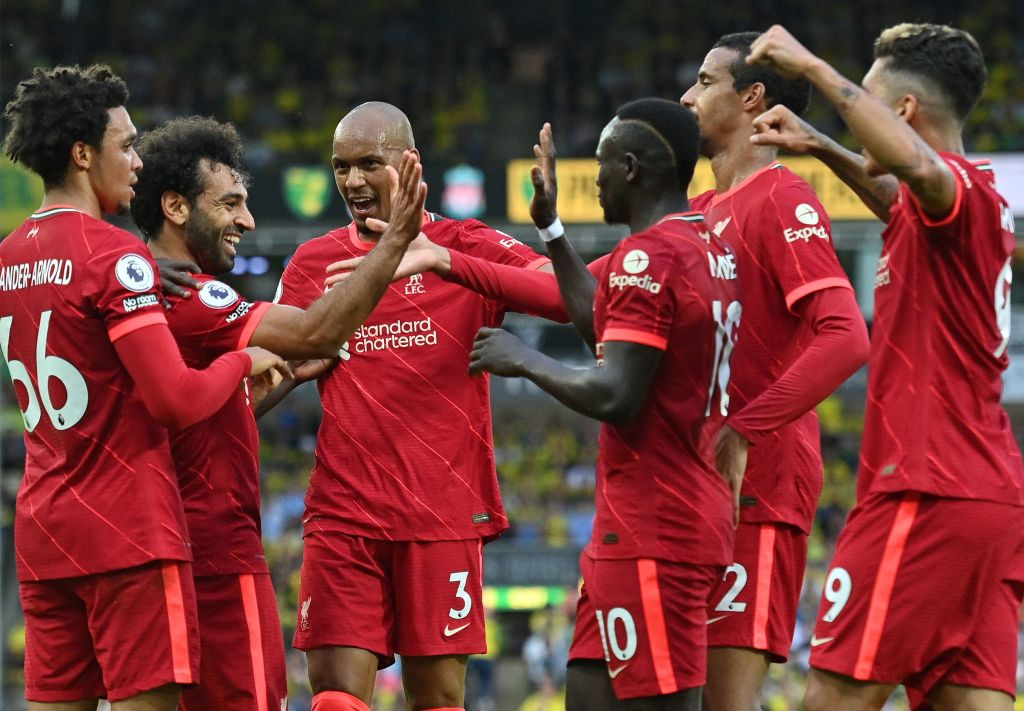 Fabinho excelled for Liverpool against Leeds United today