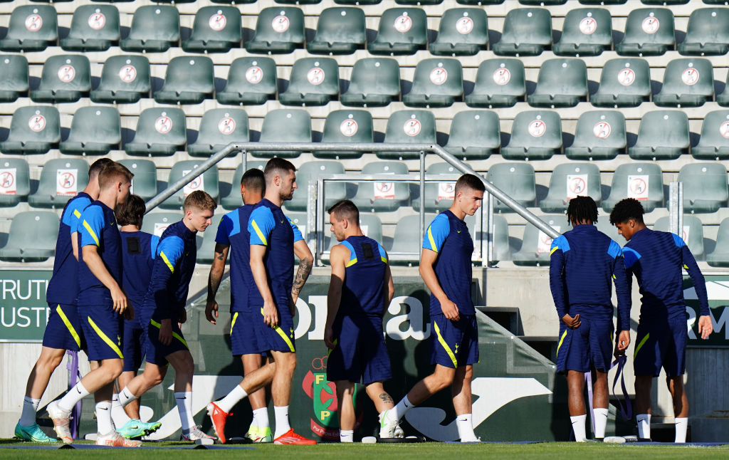 Spurs are preparing to face Pacos de Ferreira in the Europa Conference League
