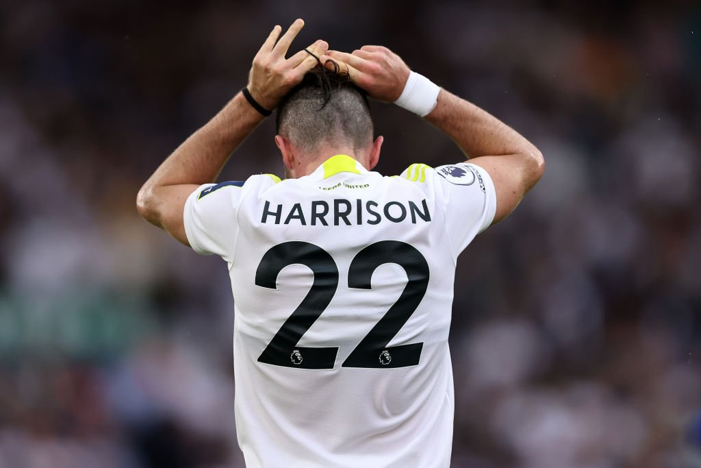 Jack Harrison was lauded after Leeds drew with Everton
