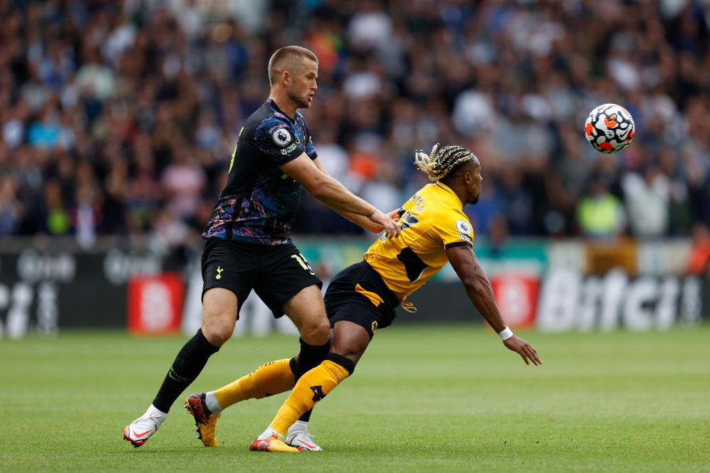 Eric Dier in action as Spurs beat Wolves