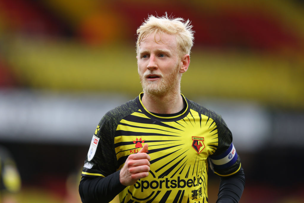 Crystal Palace have reportedly had a £5m bid rejected for Watford midfielder and Aston Villa target Will Hughes.