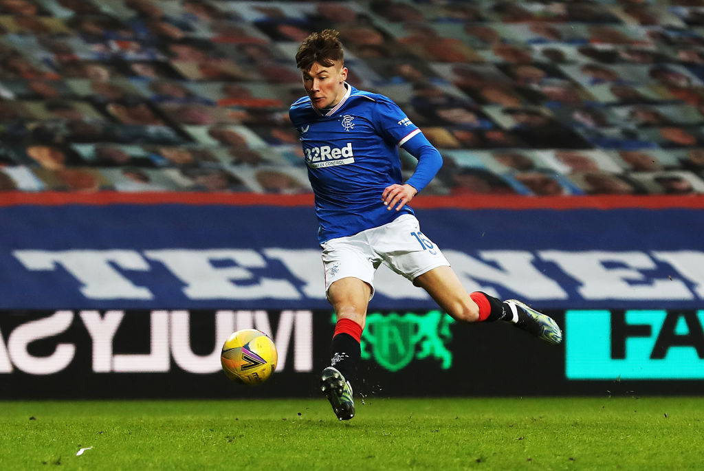 Rangers ace Nathan Patterson delivered a great ball for Alfredo Morelos in the Europa League playoff second leg against FC Alashkert