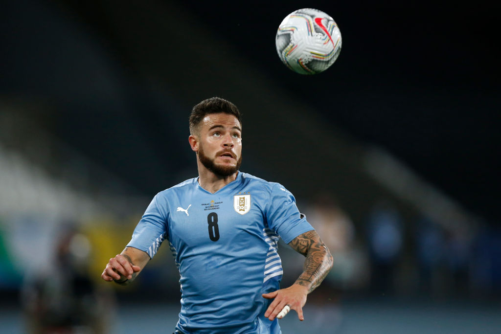 Spurs were briefly linked with Nahitan Nandez