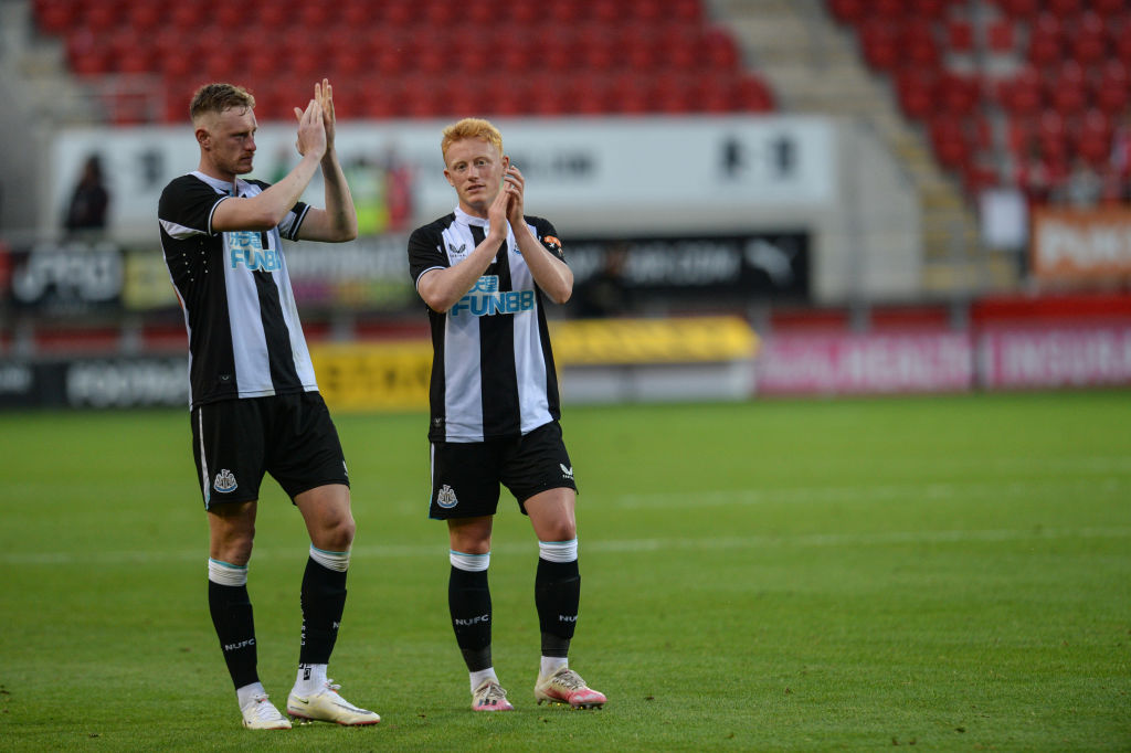 Sean Longstaff could move to Everton.