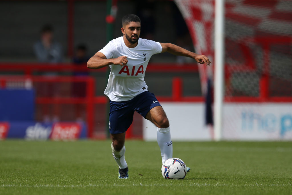 Dilan Markanday scored a hat-trick for Spurs' under-23s on Monday