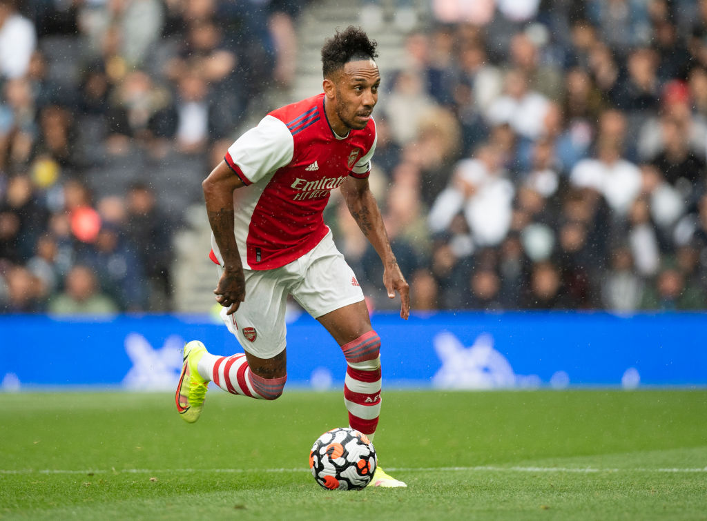 Pierre-Emerick Aubameyang has been linked with Manchester City