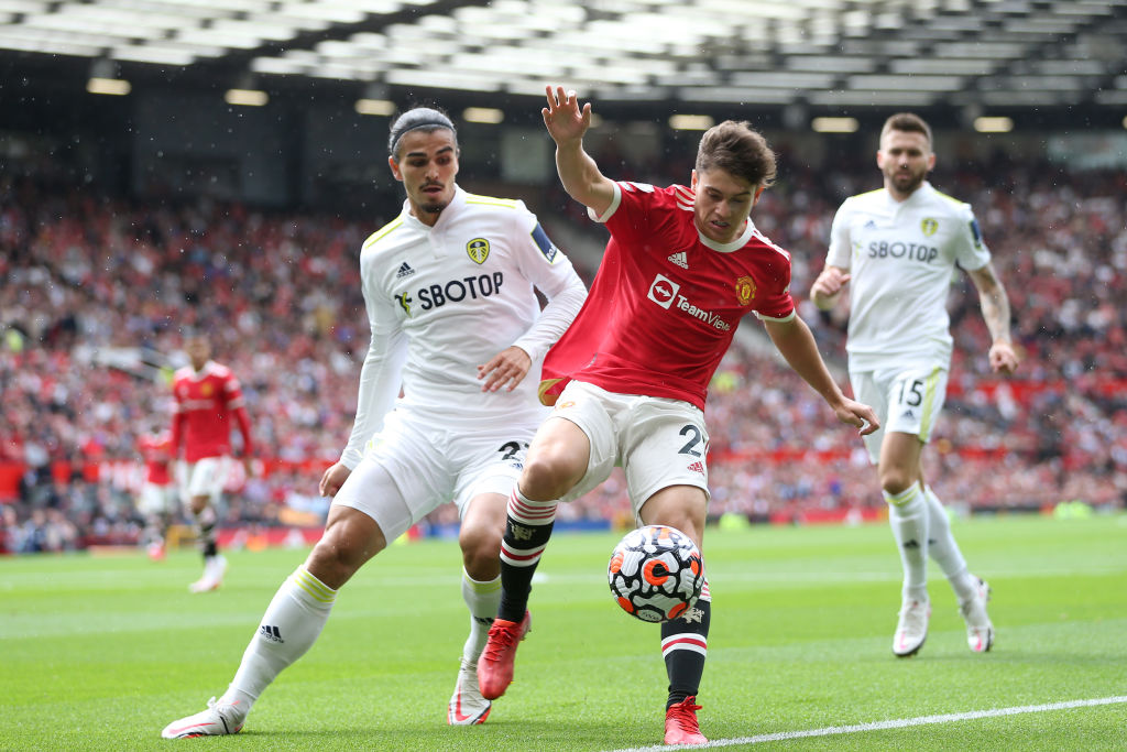 Leeds and Everton want Manchester United winger Dan James