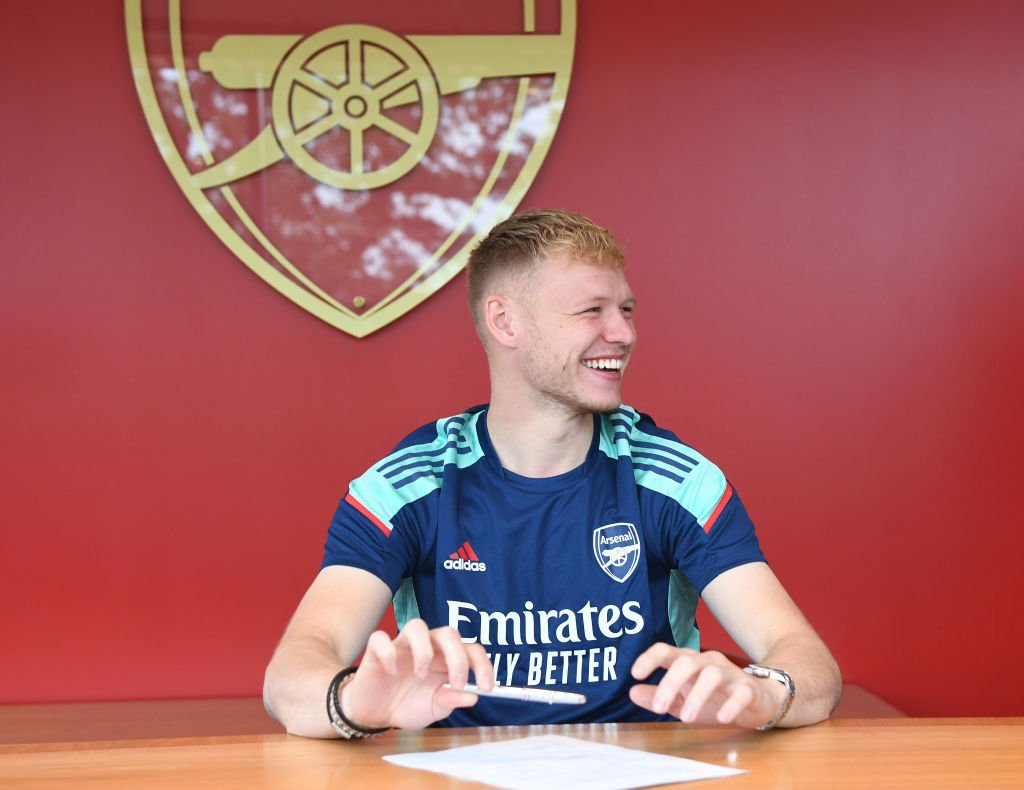 Arsenal Unveil New Signing Aaron Ramsdale