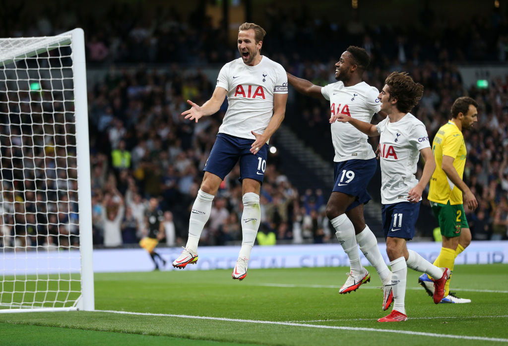 Spurs star Harry Kane netted a brace to help Tottenham win their Europa Conference League tie against Pacos de Ferreira