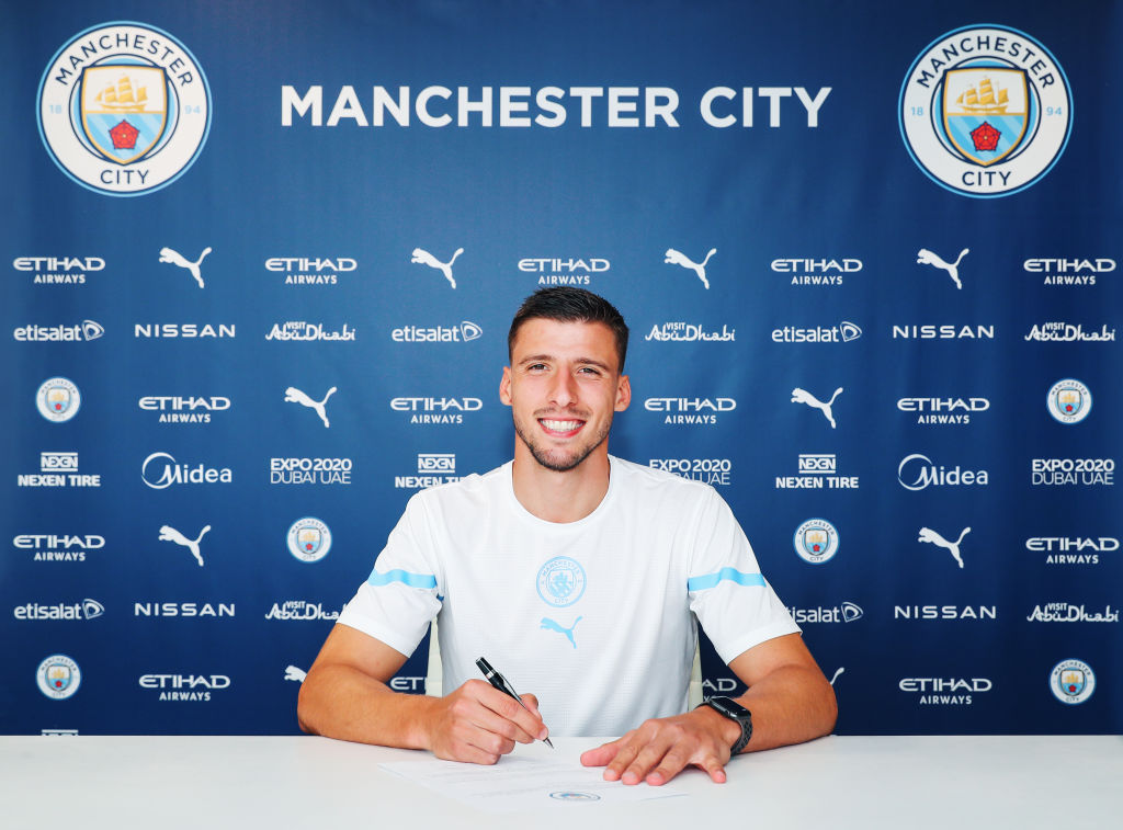 Manchester City have confirmed that Ruben Dias has signed a new long-term contract with the club until 2027.