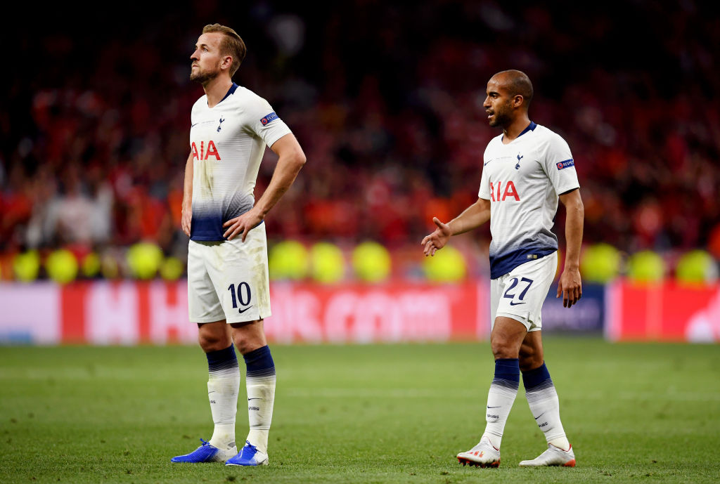 Spurs attacker Lucas Moura has revealed that he has an ambition of winning silverware with the north London side.