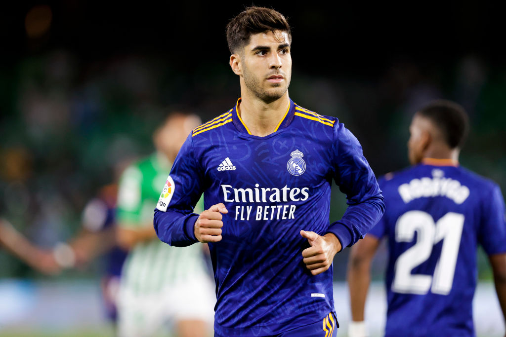 Marco Asensio in action for Real Madrid