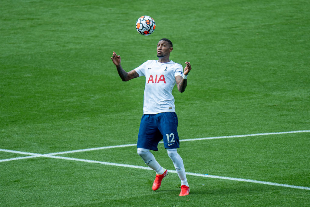 Emerson Royal in action for Spurs