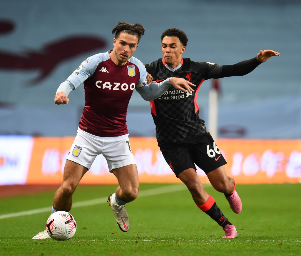 Liverpool defender Trent Alexander-Arnold has showered Manchester City star Jack Grealish with praise whilst on international duty.