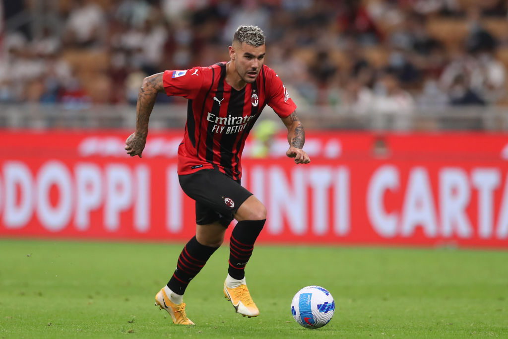 Manchester City are reportedly chasing AC Milan defender Theo Hernandez.