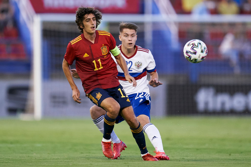 Spurs ace Bryan Gil shone for Spain's U21s last night