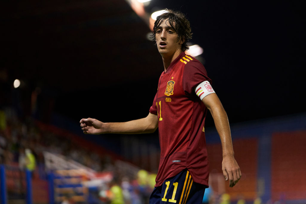 Spurs ace Bryan Gil has been shining for Spain's U21s this international break