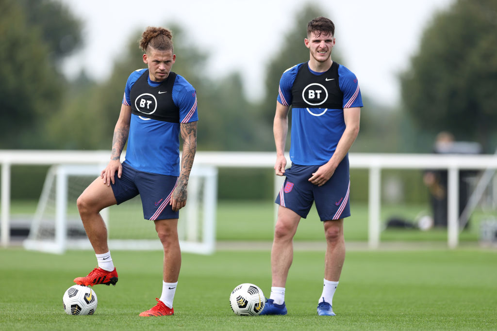 England World Cup Qualifier Camp