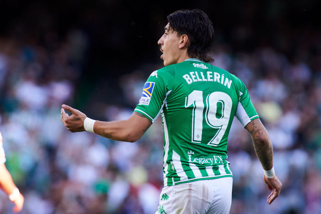 Hector Bellerin in action for Real Betis
