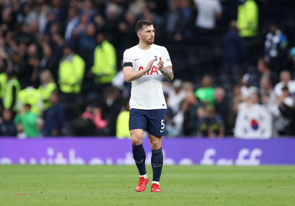 Pierre-Emile Hojbjerg after Spurs lost to Chelsea