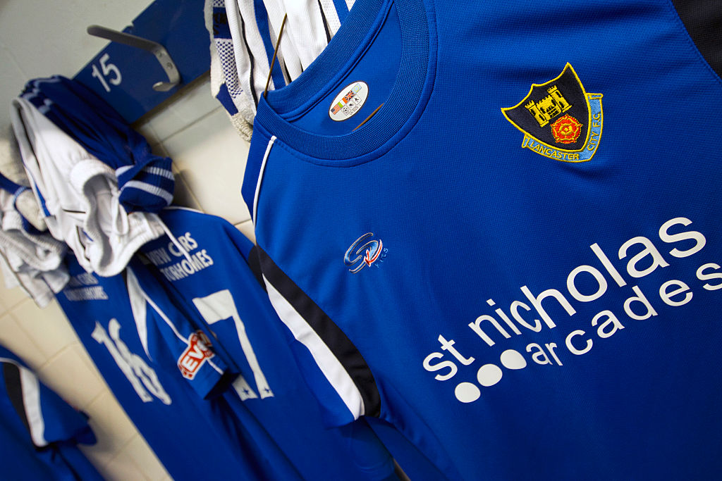 Soccer - FA Cup Qualifying - Lancaster City vs. FC Halifax Town