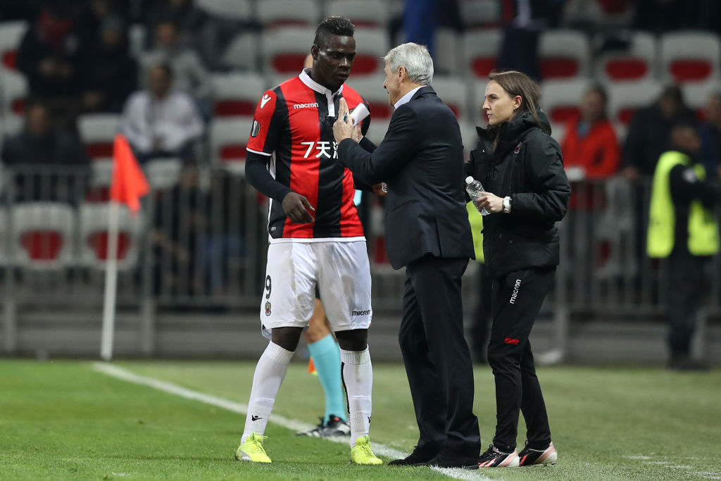Newcastle are reportedly eyeing Lucien Favre